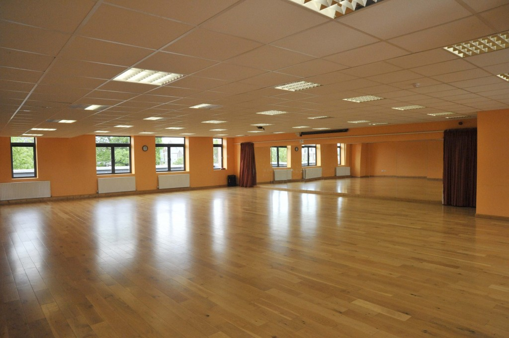 Barbican Centre dance studio