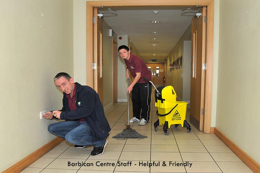 Barbican Staff Helpful & Friendly