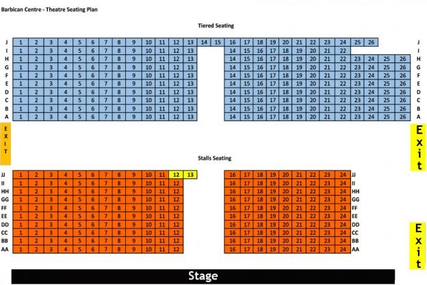 Seating Plan 1