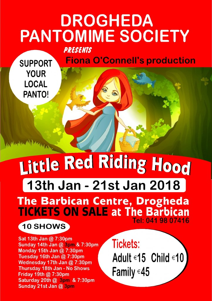 LITTLE RED RIDING HOOD FLYER