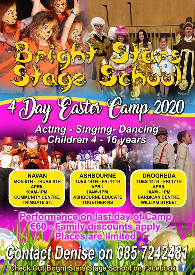 Bright Star Stage School Easter Camp 2020