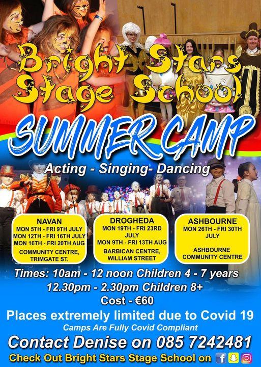 Bright Stars Stage School SUMMER CAMP
